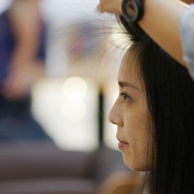 Haare schneiden Dame
